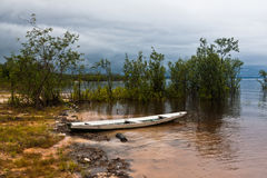Wood Boat in Manaus Royalty Free Stock Image