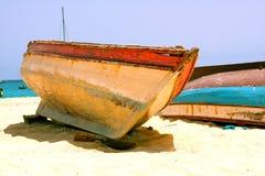 Wood boat Royalty Free Stock Photo