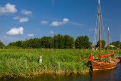 Wood Boat Stock Photo