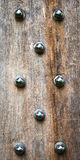 Wood and bolts Royalty Free Stock Images