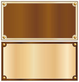 Wood border Royalty Free Stock Photos
