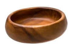 Wood bowl Royalty Free Stock Photos