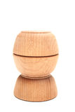 Wood bowls Stock Image