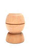 Wood bowls Stock Image