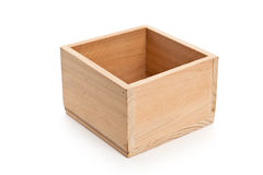 Wood Box Stock Image