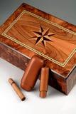 Wood box Stock Images