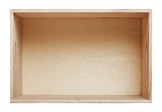 wood box Royalty Free Stock Photo
