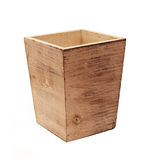 Wood box Royalty Free Stock Image