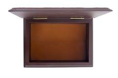 Wood box empty Royalty Free Stock Photo