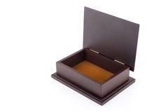 Wood box empty Royalty Free Stock Image