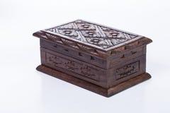 Wood box Stock Image
