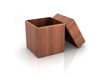 Wood box Stock Images