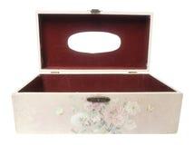 Wood box. Wood box  on white background Stock Photos