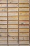 Wood brädevägg arkivbild