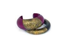 Wood Bracelet Royalty Free Stock Image