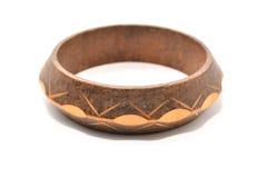 Wood bracelet Stock Photo