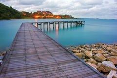 Free Wood Bridge Stock Image - 26039551