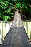 Wood bridge Stock Photos