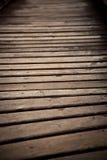 Wood bridge close up Royalty Free Stock Photos