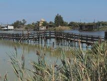 Comacchio Lagoons Royalty Free Stock Photo
