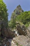 Wood Bridge between rocks, Erma River Gorge Royalty Free Stock Image