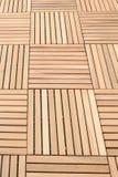 Wood brown block plank Royalty Free Stock Photo