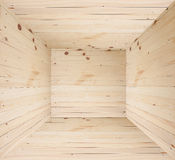 Wood brown feeling in box or in wooden room and can be used for display or montage your products Royalty Free Stock Photo
