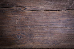 Wood brown grain texture background, top view of wood. En table Stock Photos