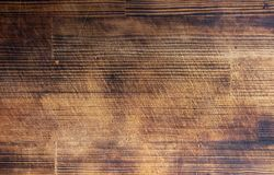 Wood brown grain texture, top view of wooden table wood wall background. Wood brown grain texture, top view of wooden table, wood wall background royalty free stock photography