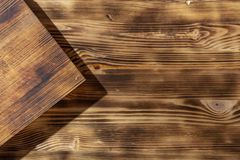 Wood brown grain texture, top view of wooden table wood wall background. Wood brown grain texture, top view of wooden table, wood wall background royalty free stock photo