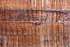 Wood brown grain texture, top view of wooden table wood wall background. Wood brown grain texture, top view of wooden table, wood wall background stock image