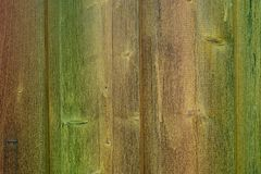 Wood brown structure green old aged texture royalty free stock image
