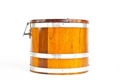 Wood Bucket Stock Photos