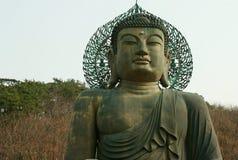 Wood Buddha Royalty Free Stock Photos