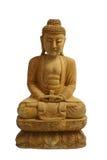 Wood Buddha Stock Image
