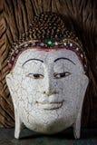 Wood Buddha Sculpture Royalty Free Stock Image