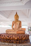 Wood Buddha statue Stock Image