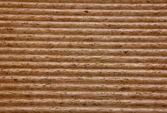 Wood building boards. A close up of compressed wooden plates Stock Image