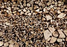Wood bunt av olika format med rundor royaltyfri foto