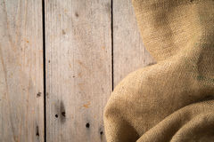 Wood Burlap Background Royalty Free Stock Images