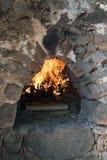 Wood burning oven Stock Image