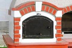 Wood burning oven Royalty Free Stock Photo