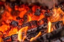 Wood burning Royalty Free Stock Photography