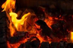 Wood burning Stock Images