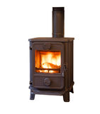 Wood burning stove Stock Photos