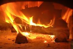 Wood burning stove Royalty Free Stock Photography