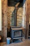 Wood Burning Stove Stock Image