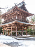Wood byggnad i Kamakura Royaltyfri Bild