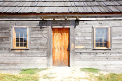 Wood cabin Royalty Free Stock Photography