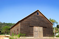 Wood cabin Stock Images